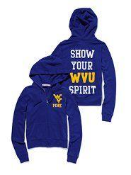 I really want a WVU hoodie