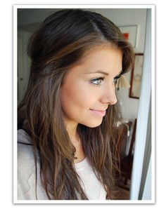 What I want my hair to look like if I grow it back out