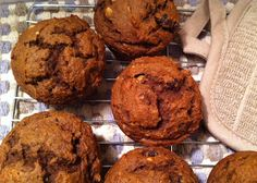 Eat • Write: Chocolate meets pumpkin in muffins