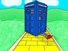 TARDIS in Oz by Serenity-Blue.deviantart.com