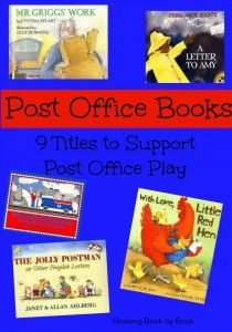 Post Office Books and play ideas.