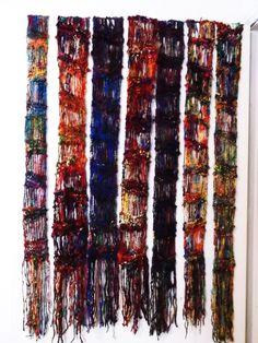 skinny drop stitch scarves