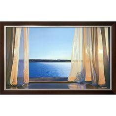 """art.com 40""""W x 25""""H Architecture Framed Wall Art"""