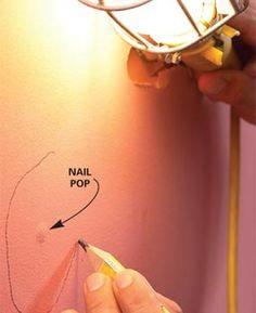 prepar interior, painting art, interiors, diy project, nails, families, how to paint walls, painting a room, interior walls
