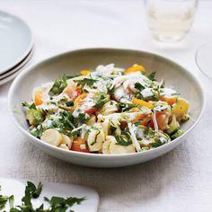 Hearts of Palm and Avocado Salad // More Amazing Avocado Recipes: http://www.foodandwine.com/slideshows/avocado-recipes #foodandwine