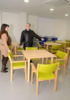 Estreno del centro de día de alzhéimer de Pontevedra