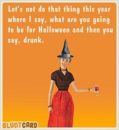 halloween drunk