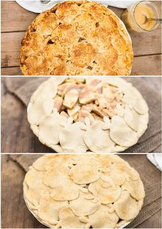 Learn to make a beautiful pie crust with a step by step picture tutorial. Dulce de Leche Apple Pie recipe included! #thanksgiving #pie #pastry apple pie recipes, pie crusts, lech appl, appl pie, apple pies