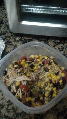 Weight Watchers Mexican Crockpot Chicken