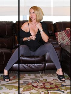 This is right before I seduced my sons roommate at my house....www.Naughtyathome.com Desirae Spencer