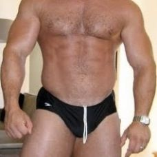Speedo With Strings Out