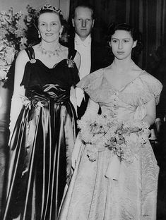 Molly Duchess of Buccleuch, the Earl of Dalkeith (later Duke of Buccleuch) and Princess Margaret