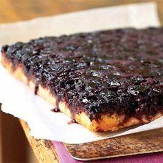 Cherry-Almond Upside-Down Cake | MyRecipes.com