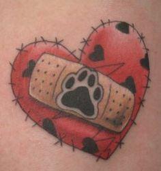 Pet Memorial Tattoo---Adroit Ink