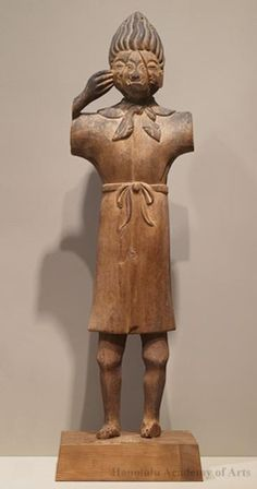 Object Title:  The Priest Höshi    Date:  12th century    Artist:  Anonymous    Medium:  Wood