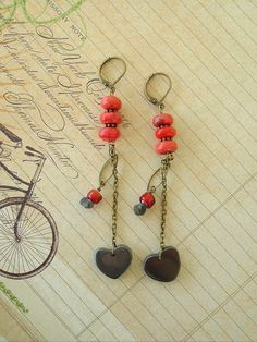 Boho Southwest Earrings Bohemian Jewelry Tribal by BohoStyleMe