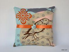 decor, bird, idea, ring pillows, dream