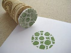on the cheap: teeny tiny little stampers.