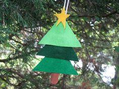 Kids Christmas ornament craft