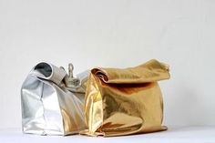 LOVE AESTHETICS | by Ivania Carpio: D I Y / Foil Lunch Bags