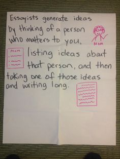 ideas for personal essays