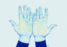 Stars by Natalie Foss, via Behance