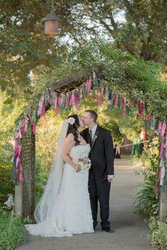 Jennifer & Jasan's Pink, Green + Gold Animal Themed Wedding|Photographer: Retrospect Images