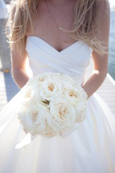 gorgeous english roses, wedding dressses, white flowers, cleanses, white roses, brides, the dress, gown, white bouquets