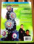 My Edible Artists Network Magazine, Summer 2013 issue, signed by Norm Davis
