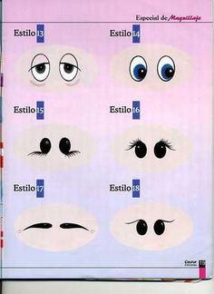 Doll eye ideas