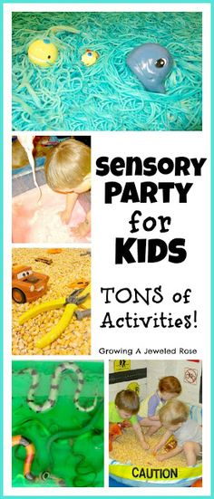 Setting the Stage for Group Sensory Play ~ Growing A Jeweled Rose