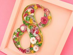 Quilled 8 by Inna Adamenya, via Flickr