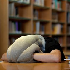 I thought this was an April Fool's joke, but no: Ostrich Pillow by Ali Ganjavian & Key Portilla Kawamura $89
