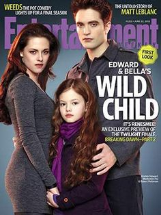 First Glimpse At Renesmee in THE TWILIGHT SAGA: BREAKING DAWN – PART 2 #Twilight #BreakingDawn #BD2 break dawn, cant wait, robert pattinson, breakingdawn, kristen stewart, children, twilight saga, breaking dawn, wild child