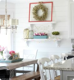 Spring Link Up Party - The House of Smiths - Home DIY Blog - Interior Decorating Blog - Decorating on a Budget Blog
