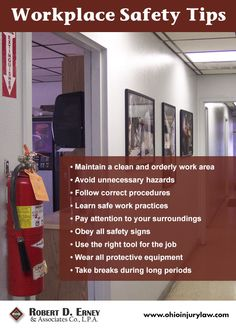 Workplace #safety #tips!