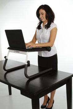 FitDesk Tabletop Standing Desk (converter) $96
