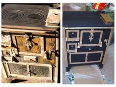 Restauración de una cocina de hierro