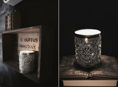 Punched Tin Votive