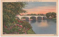 World War Memorial Bridge, Binghamton, New York