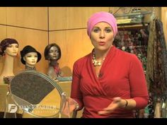 """How to tie a headscarf"" tutorial video - from Dana-Farber Cancer Institute"