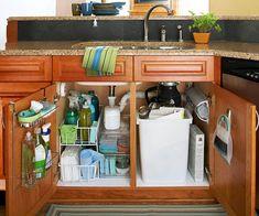 Commandeer the Sink Cabinet @Debbie Booth