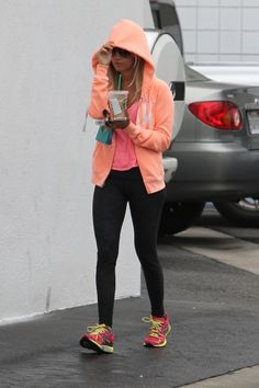 Ashley Tisdale #workout #sneakers #gym #style #clothes #celebrity