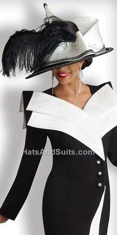 Image detail for -home new arrivals donna vinci couture church hat  TRES  ELEGANT,,,,**+