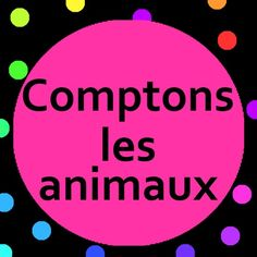 French kids song.  Learn to count the animals and sing along to Comptons les animaux song with lyrics.