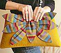 Dragon Flower Clutch Bag Pattern by Purse Strings