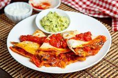 Chicken Fajita Quesadillas stuff-i-wanna-eat-cook-bake