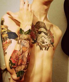 #tattoo #art #skull #sexy #ink #bodyart #tatuagens #gorgeous #beautiful