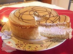 Házi krémes torta