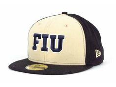 Florida International Golden Panthers New Era 59FIFTY NCAA 2 Way Cap Hats